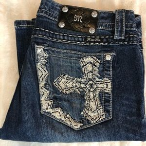 Miss Me Mid-Rise Bootcut Jeans Size 32